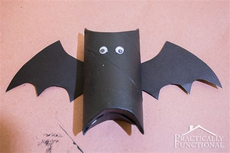 Toilet Paper Roll Bat Wing Template by Diy Toilet Paper Roll Bats