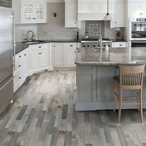 lowes tiles kitchen kaden reclaimed wood look floor tile available at lowe s 3897