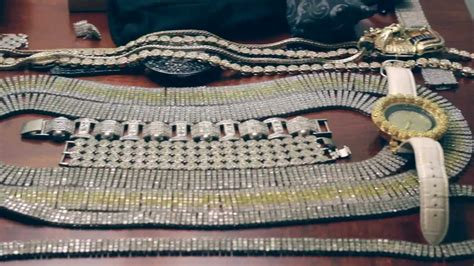 New Orleans Rapper Shows off Jewelry @ Windsor Court Hotel