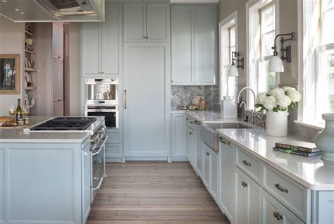 blue and white kitchen cabinets design trend blue kitchen cabinets 30 ideas to get you
