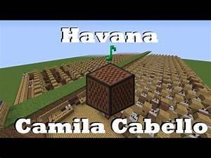 Havana Camila Cabello Minecraft Note Blocks
