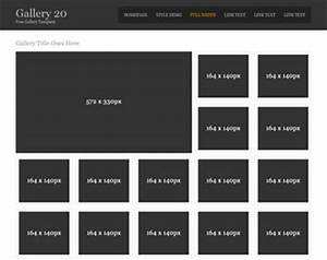 Gallery 20 gallery templates os templates for Photo gallery html template free download