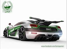 Will This Koenigsegg One1 Be Dubai's Next Police Car