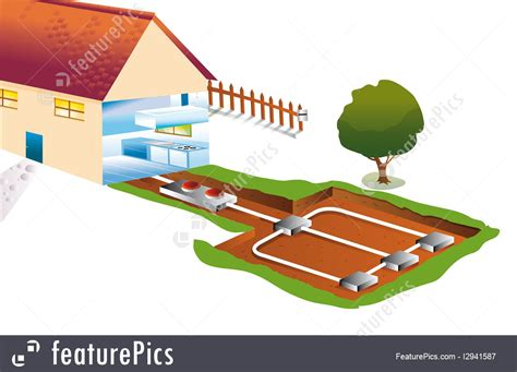 thermal energy geothermal energy stock illustration   featurepics