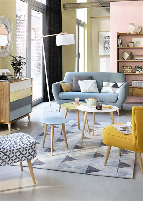 Retro Living Room Yellow by How To Style A Coffee Table In Your Living Room Decor