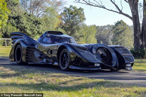 batman real car real life batmobile man spends two years building iconic car