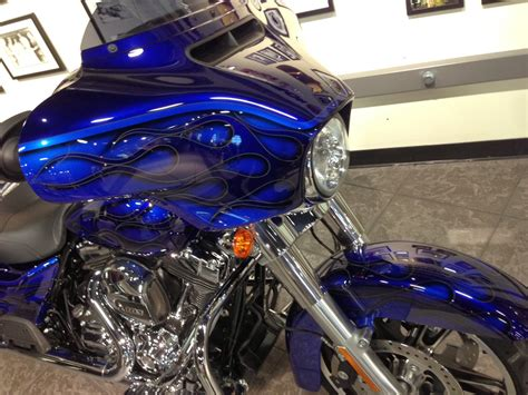 custom harley paint ghost flames images car