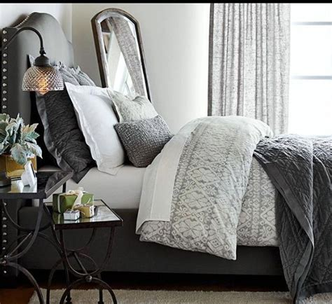 pottery barn bedding neutral gray bedding from pottery barn for the home