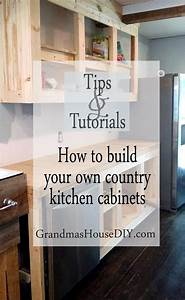 how to build kitchen cabinets with kreg jig With how to make your own kitchen cabinet doors