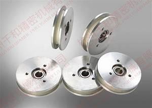 White Aluminum Ceramic Wire Roller Oil Winding Wire Guide