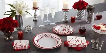 40th Birthday Decorations Canada by Ruby 40th Wedding Anniversary Supplies City