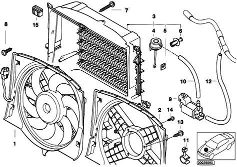 original parts for e46 320d m47 touring radiator fan