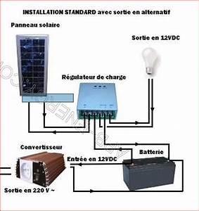 Installation Panneau Solaire : schema installation de panneau solaire ~ Dode.kayakingforconservation.com Idées de Décoration