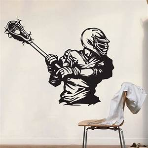 lacrosse decal decor lacrosse wall decal lacrosse stickers With best of lacrosse wall decals