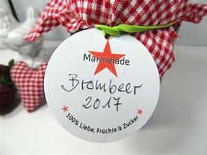 Etiketten Für Gläser : wohnen marmeladen anh nger etiketten f r gl ser flaschen von konft re gelee saft ~ One.caynefoto.club Haus und Dekorationen