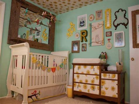 chambre style vintage déco de la chambre bébé fille sans en 25 idées