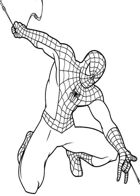 disegni da colorare  spiderman uomo ragno