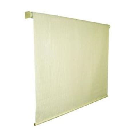 coolaroo sesame exterior roller shade 120 in w x 72 in