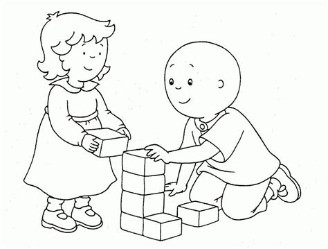 Caillou Printable Coloring Pages Caillou Coloring Pages Best Coloring Pages For