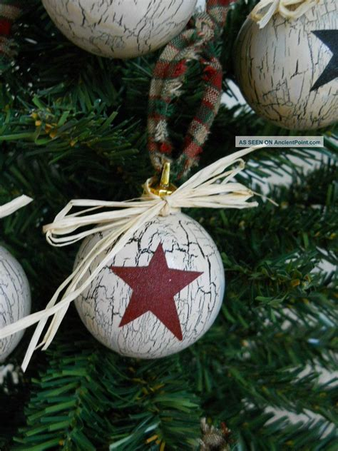 28 best country christmas ornaments to make primitive