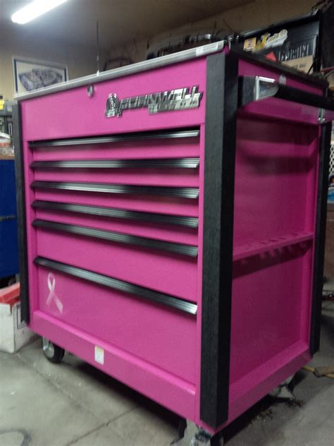 tool storage  supporting  pink october breast