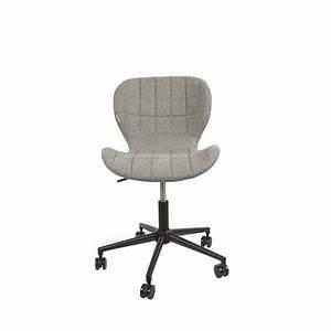Chaise Pour Bureau : chaise de bureau confortable zuiver omg ~ Teatrodelosmanantiales.com Idées de Décoration