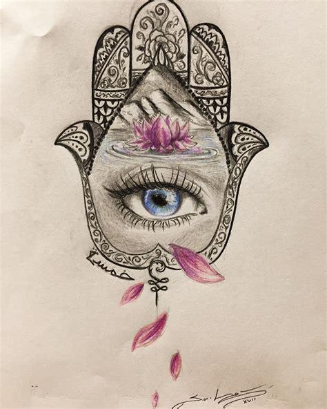embody  symbol  protection   hamsa tattoo