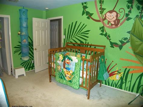 deco chambre bebe theme jungle idée déco chambre bébé jungle bébé et décoration