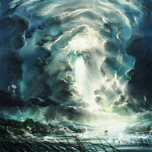 Digital Paintings Of Spectacular Skies And Fantastic Storms