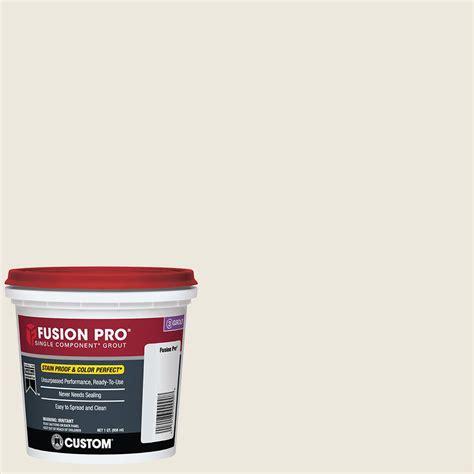 fusion pro grout colors custom building products fusion pro 381 bright white 1 qt