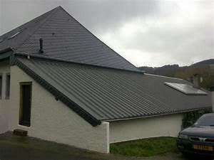 Tole Pour Toiture : gr goire vincent sprl les toitures en t les ~ Premium-room.com Idées de Décoration