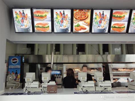fast food restaurant menu display systemsmm