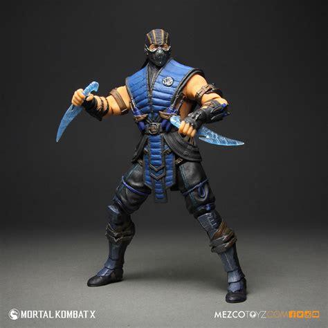 Mortal Kombat X Sub Zero 12 Figure Mezco Toyz
