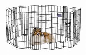 midwest black e coat exercise pen with step thru door review With dog crate and pen