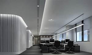 Office lighting design, minimalist office interior design