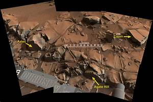 Within Rover's Reach at Mars Target Area 'Alexander Hills ...