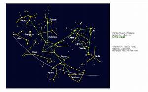 Northern Constellations  45-90 Degrees