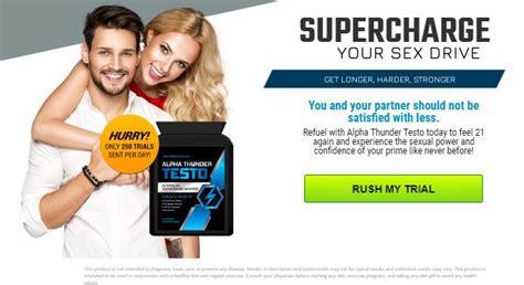 alpha thunder testo  boost testosterone levels