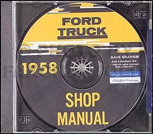 1958 Ford Pickup  U0026 Panel Truck Body  Trim  U0026 Sealant