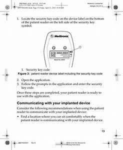Medtronic 25000 Patient Reader 25000 User Manual