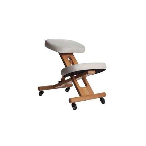 chaise de bureau ergonomique dos siège ergonomique assis genoux évitez le mal de dos sur
