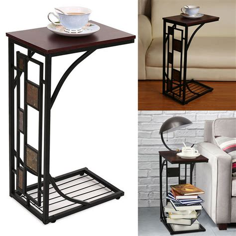 End Sofa Table Tulips by 2018 C Shaped Side Sofa Snack Table Coffee Tray End Table