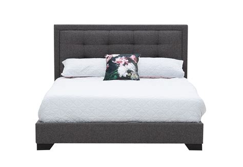 hot autumn offer queen upholstered bed  mattress