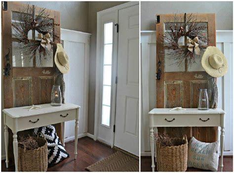 Garderobe Aus Alter Tür Selber Bauen