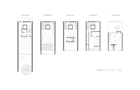 design plans gallery of townhouse gluck 11