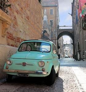 Fiat 500 Ancienne Italie : fiat 500 in verona italy italy pinterest voiture vieilles voitures and italie ~ Medecine-chirurgie-esthetiques.com Avis de Voitures