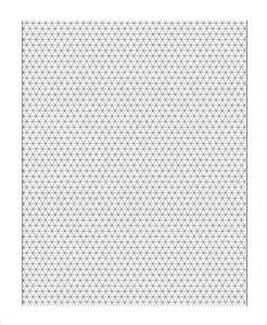 Free Printable 3D Graph Paper Template