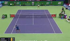 Rafael Nadal and Grigor Dimitrov in stunning rally… ends ...