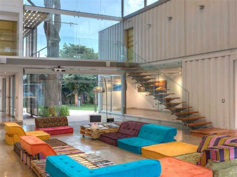 interior designed homes shipping container home shipping container homes interior