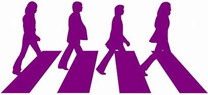 Beatles Abbey Road Silhouette Silhouettes Zebra Clipart